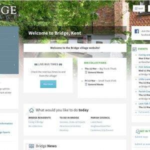 Village WordPress Website