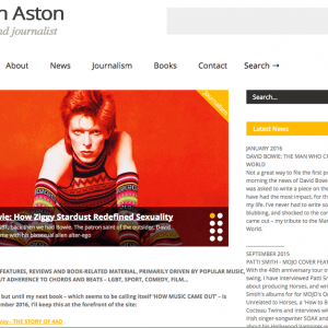 WordPress Website Martin Aston